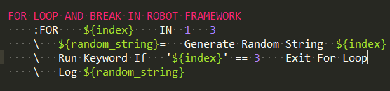 example-robotframework-exit-for-loop-keyword