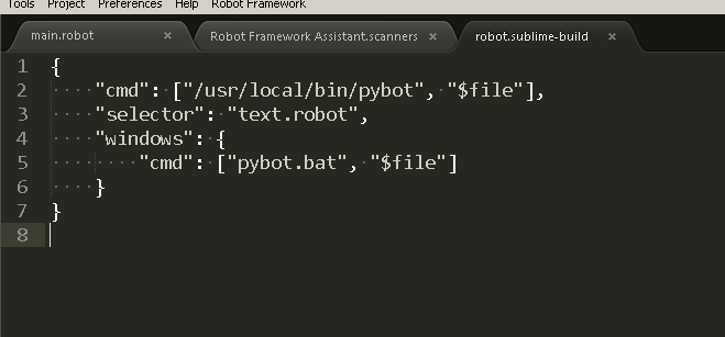 robot-framework-build-config-sublime