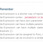 point-to-remember-lambda-expression