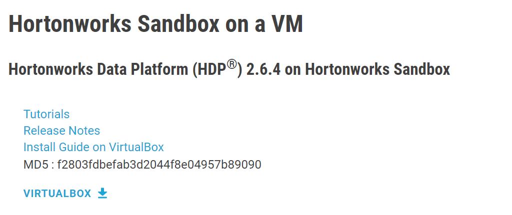 hortonworks-sandbox
